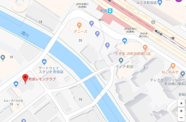 レモンクラブの地図
